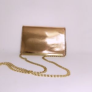 Mossimo Clutch with Gold Chain